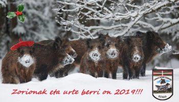 felicitacion navidad bizkaia