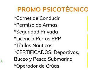 PROMO PSICOTECNICOS 2019